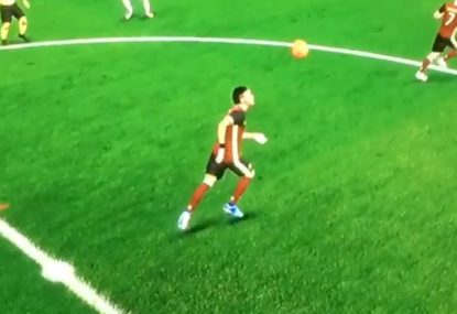 Even in FIFA Neymar is brutally shot down