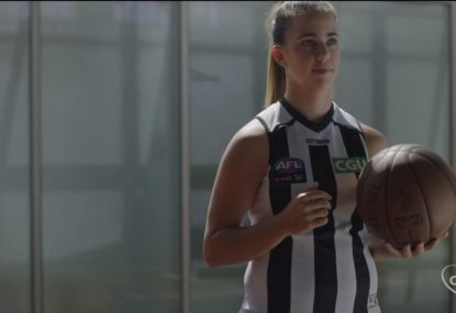 The values that the Collingwood Football Club lives by