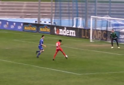 Keepers outstanding full-stretch leaping save is one for the archives