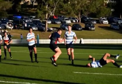 Blind hit and spin into offload is ridiculous