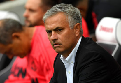 Right on time, Mourinho's third season syndrome is taking shape