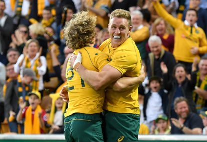 A bloody marvellous win by the Wallabies