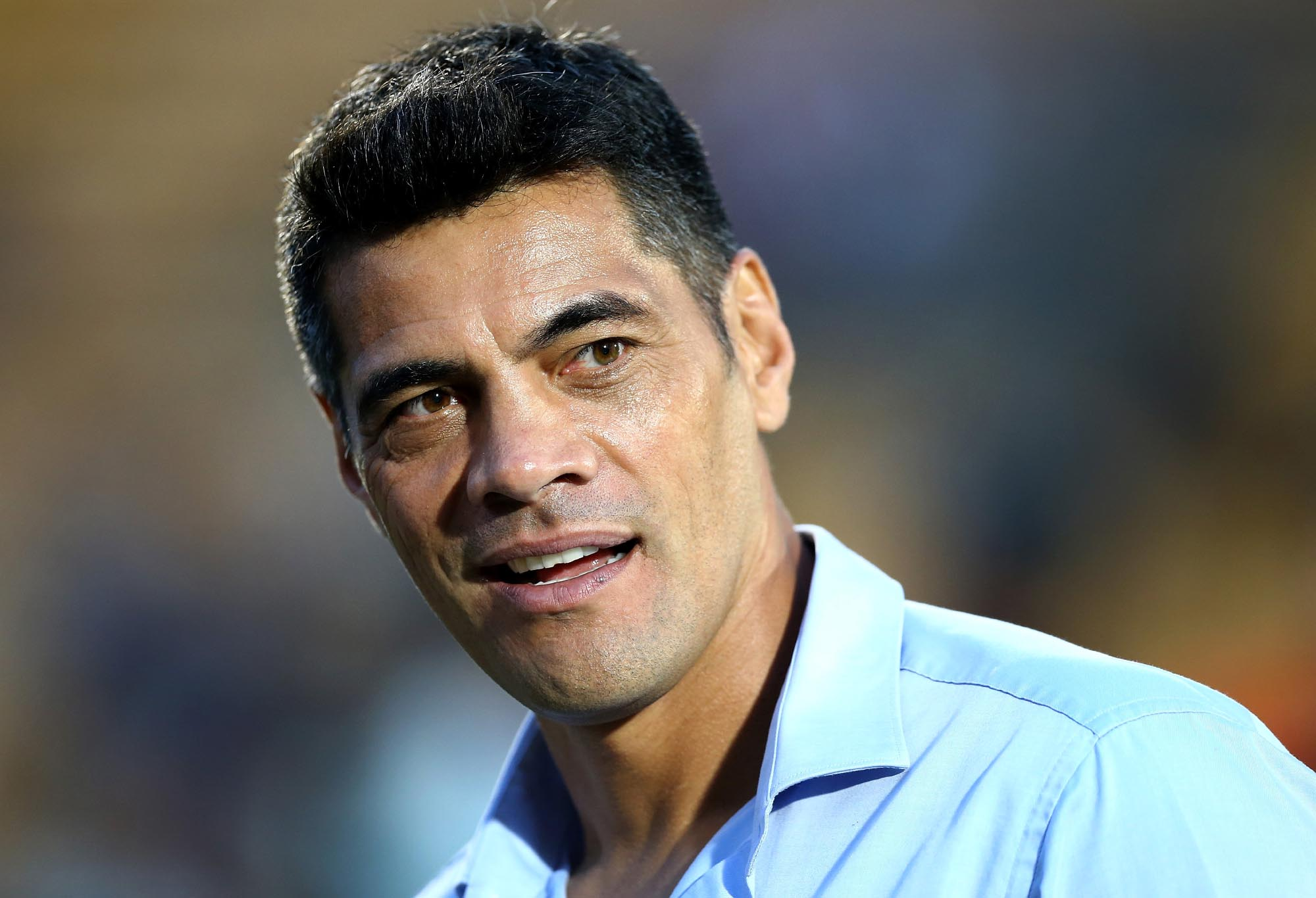 Stephen Kearney, head coach of the Warriors after the Round 5 NRL match between the New Zealand Warriors and the Gold Coast Titans at Mount Smart Stadium in Auckland, New Zealand, Sunday, April 2, 2017. (AAP Image/David Rowland)