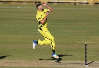 Western Australia vs New South Wales: JLT one-day cup live scores, blog