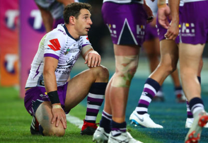 Who will replace Slater at fullback in 2019?