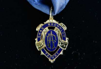 The 2018 Brownlow Medal winner and top five - as predicted by Twitter
