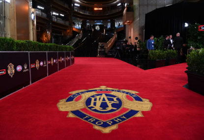 Brownlow Medal red carpet fashion ratings, photo gallery 2018