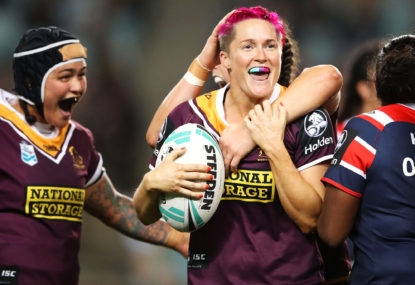 Who will play in the NRLW Grand Final?