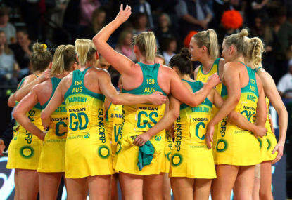 Diamonds outclass Proteas in Netball Quad Series