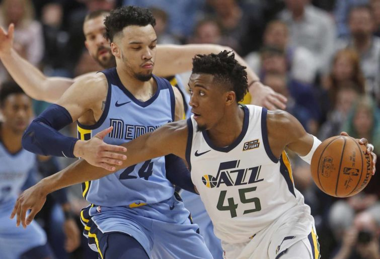 Donovan Mitchell for the Jazz