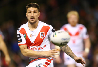 NRL Round 19 teams: Widdop among several reinforcements for Dragons