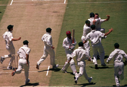 How I ended up just metres from the WACA for Glenn McGrath's hat-trick