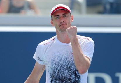 John Millman stuns tennis world with US Open boilover against Roger Federer