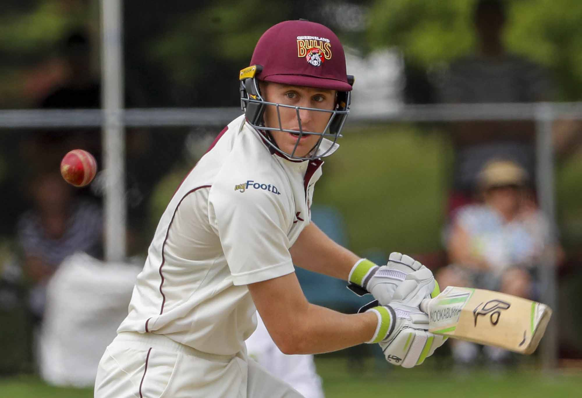 Marnus Labuschagne batting for the Bulls