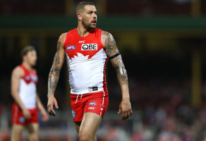 Swans star Buddy needed a run