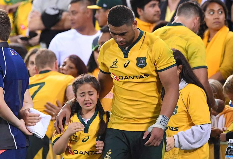 Wallabies player Lukhan Tui