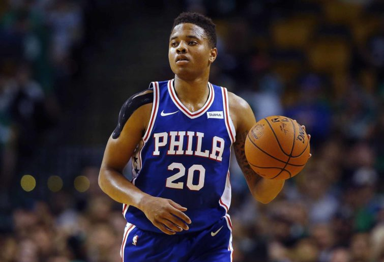 Markelle Fultz for the 76ers