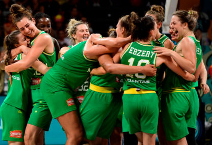 Australian Opals 'Rise up' against racism