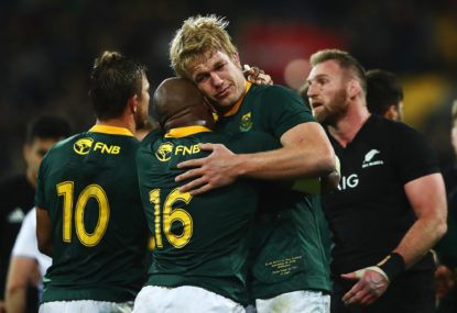 South African rugby is like a box of chocolates