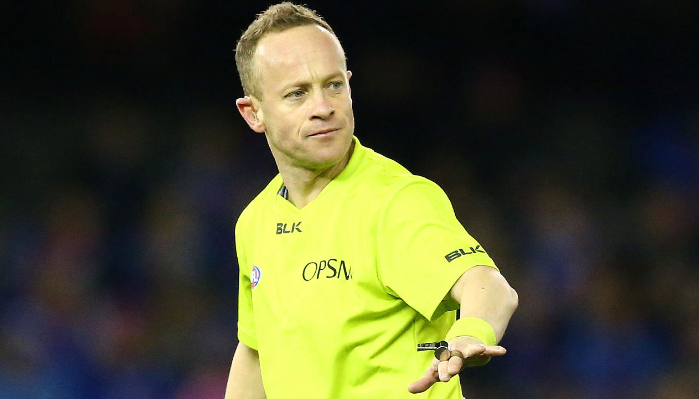 'Razor Ray' misses out as AFL names 2018 grand final umpires