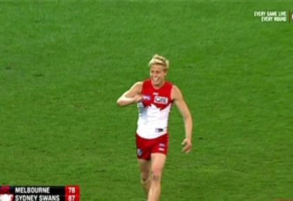 Brownlow Medal 2018: Sydney Swans star Isaac Heeney wins Mark of the Year