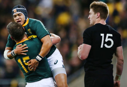 How the most basic of game plans helped the Springboks pull off the unthinkable