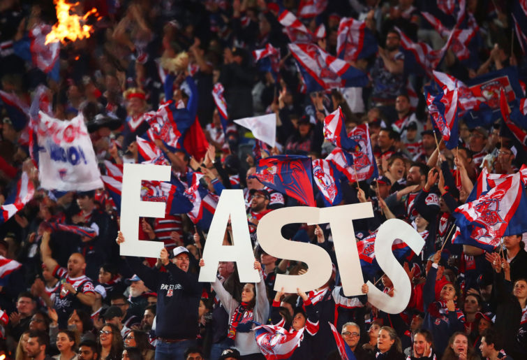 Sydney Roosters fans generic