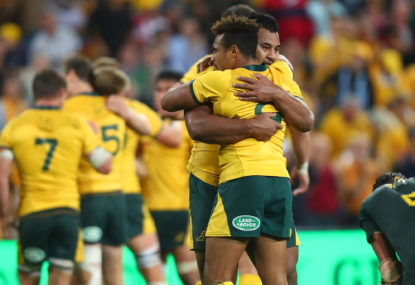 Ellis Park win a golden chance to get Wallaby tails up
