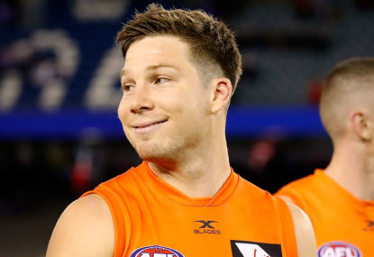 GWS break Brisbane hearts, book prelim versus Pies