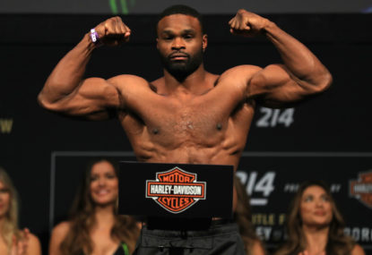 Tyron Woodley to make a statement against Gilbert Burns
