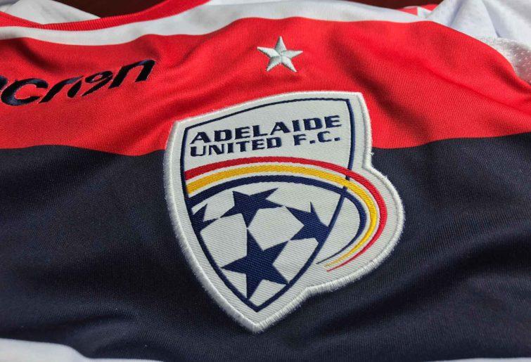 Adelaide United FC shirt and logo
