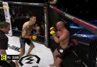 WARNING GRAPHIC: MMA fighter suffers gruesome injury in TKO loss
