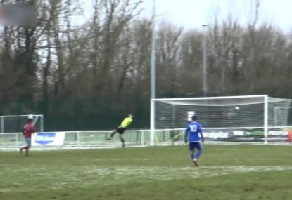 Breathtaking goal from 40-yards stuns everyone!