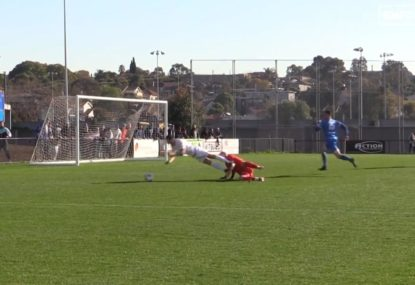 Did this keeper deserve red for this controversial tackle?
