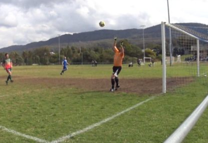 Beautiful strike just sneaks over the line for the tightest of goals