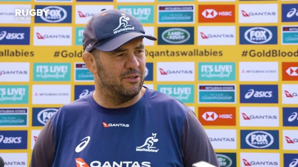 Why Cheika dropped Bernard Foley to the bench