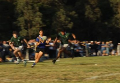 16-year-old rugby BEAST is already causing cross-code war