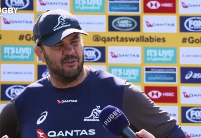 Beers on hold for Ledesma-Cheika reunion