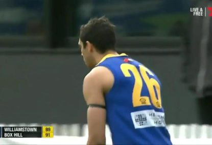Williamstown miss VFL grand final berth by narrowest of margins