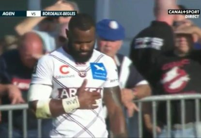Radradra forced from field in loss to Agen