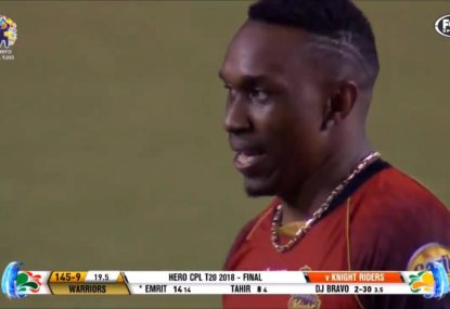 CPL team somehow miss three run outs... in one ball