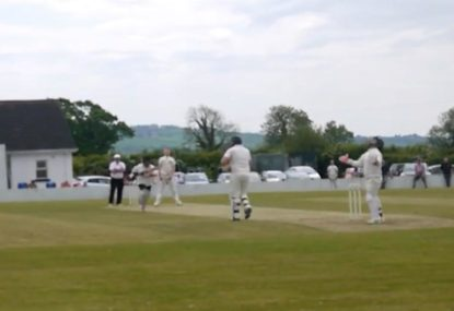 Gully saves keeper from lost ball embarrassment