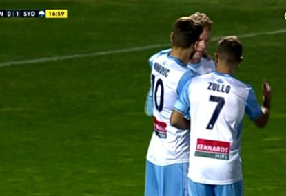 Sky Blues draw first blood against plucky underdogs