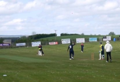 Rare umpire ruling costs bowler an easy wicket