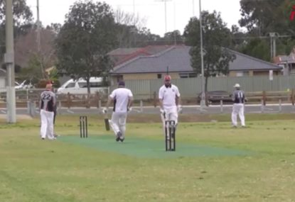 Local cricketer enjoys the perfect all-rounder's day