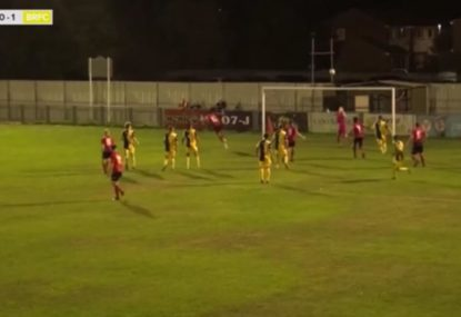 Lazy goalie blunder lets team in for late equaliser