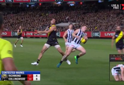 Jordan de Goey destroys Alex Rance with a 'special' mark