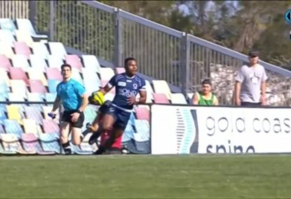 Ridiculous flick pass completes try of the season contender for Queensland Country