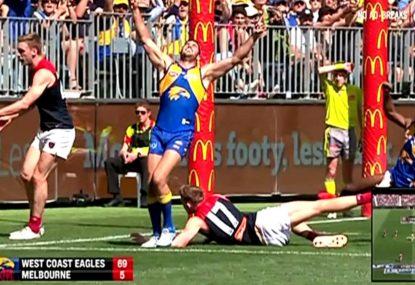 HIGHLIGHTS - West Coast Eagles vs Melbourne Demons