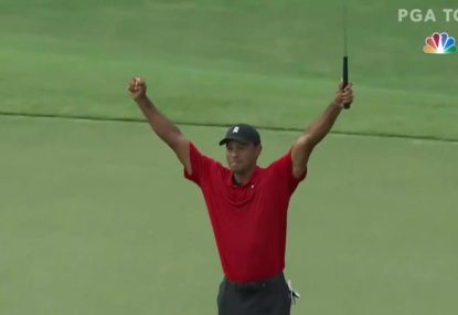 Tiger Woods marks incredible comeback with first PGA title in five years